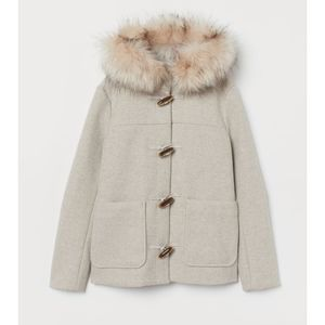 H&M Jackets & Coats - Never worn before soft toggle coat